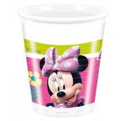 8 Copos 200ml Minnie Happy...