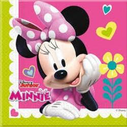 20 Guardanapos Minnie Happy...