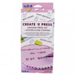 PME - Marcadores de letras...