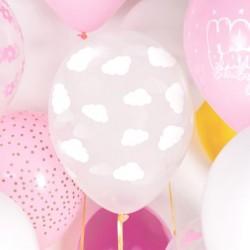 6 Balões Latex...