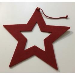 Estrelas vermelhas 20 cm