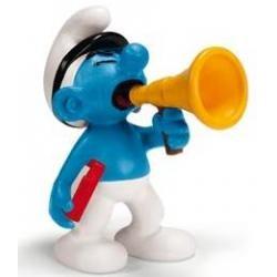 Smurfs pvc - smurf megafone