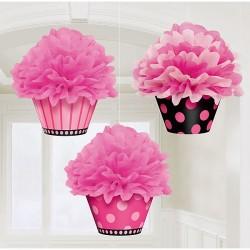 Fluffy Decoration Cupcake