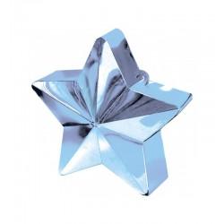 Balão estrela azul
