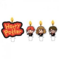 4 velas Harry Potter