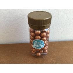 Pérolas Chocolate Cobre 65 gr.