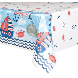 Toalha Plástica Nautical...