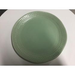 Prato loiça verde 29 cm...