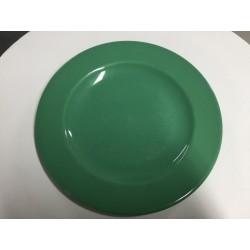 Prato loiça verde 28 cm...