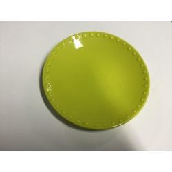 Prato loiça verde 22cm...