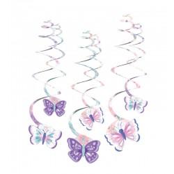 6 Swirls Flutter (Borboletas)