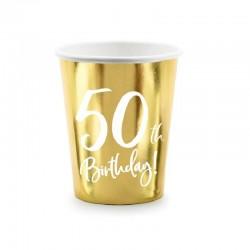 6 Copos Ouro 50th Birthday...