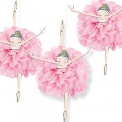 3 Pompons Bailarina